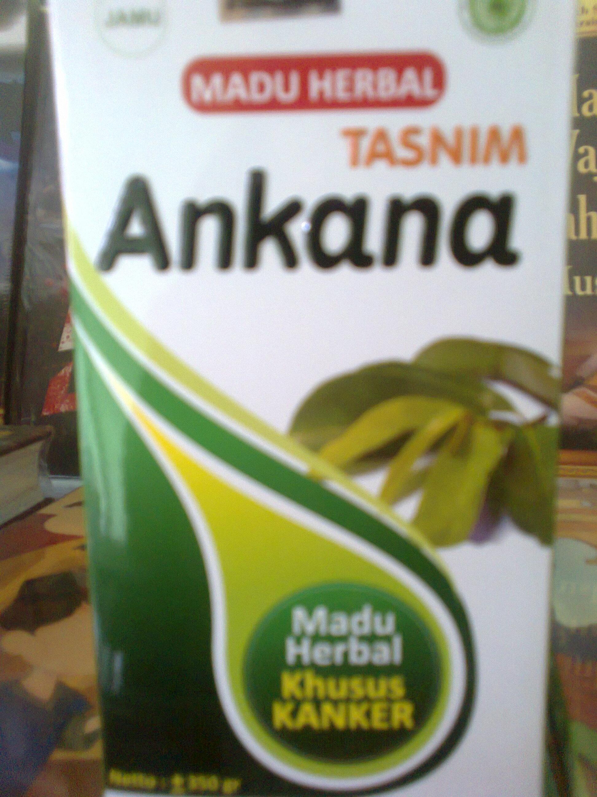 Madu Herbal Tasnim Ankana (Madu Khusus Kanker dan Tumor) ( isi : 350 gr ...